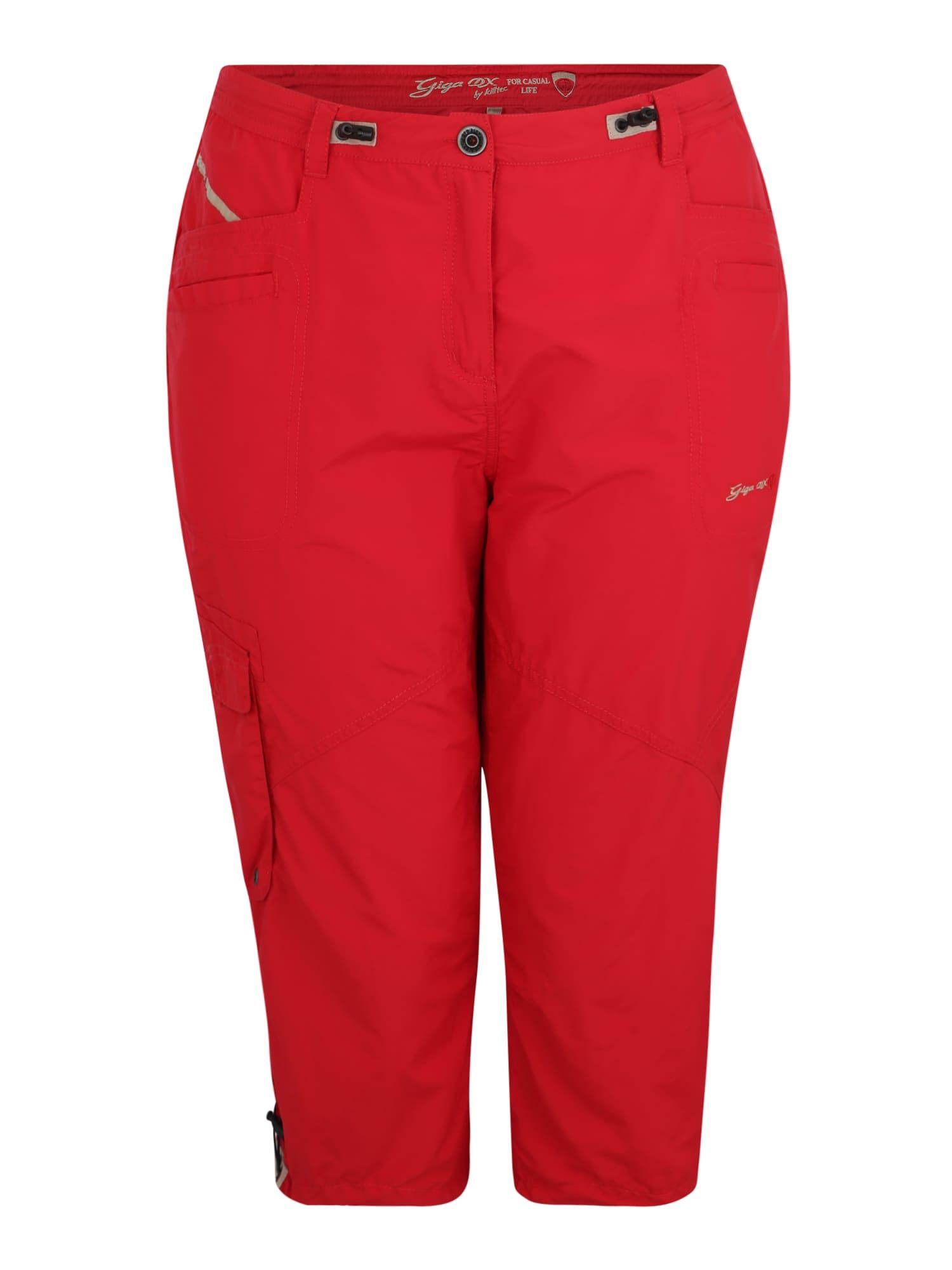 Kalhoty Fenia červená G.I.G.A. DX