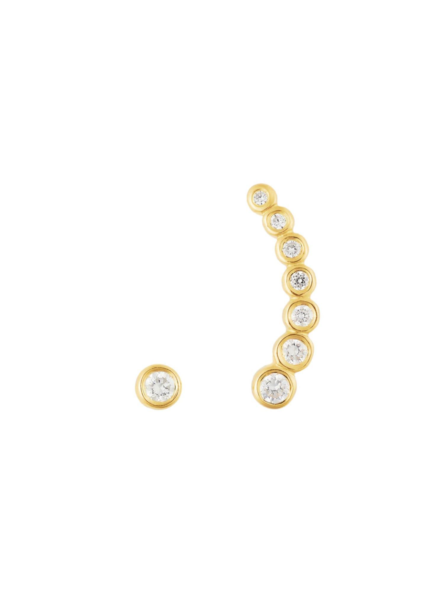 Ohrringe für Frauen - ID Fine Shooting Star Ohrstecker gold  - Onlineshop ABOUT YOU
