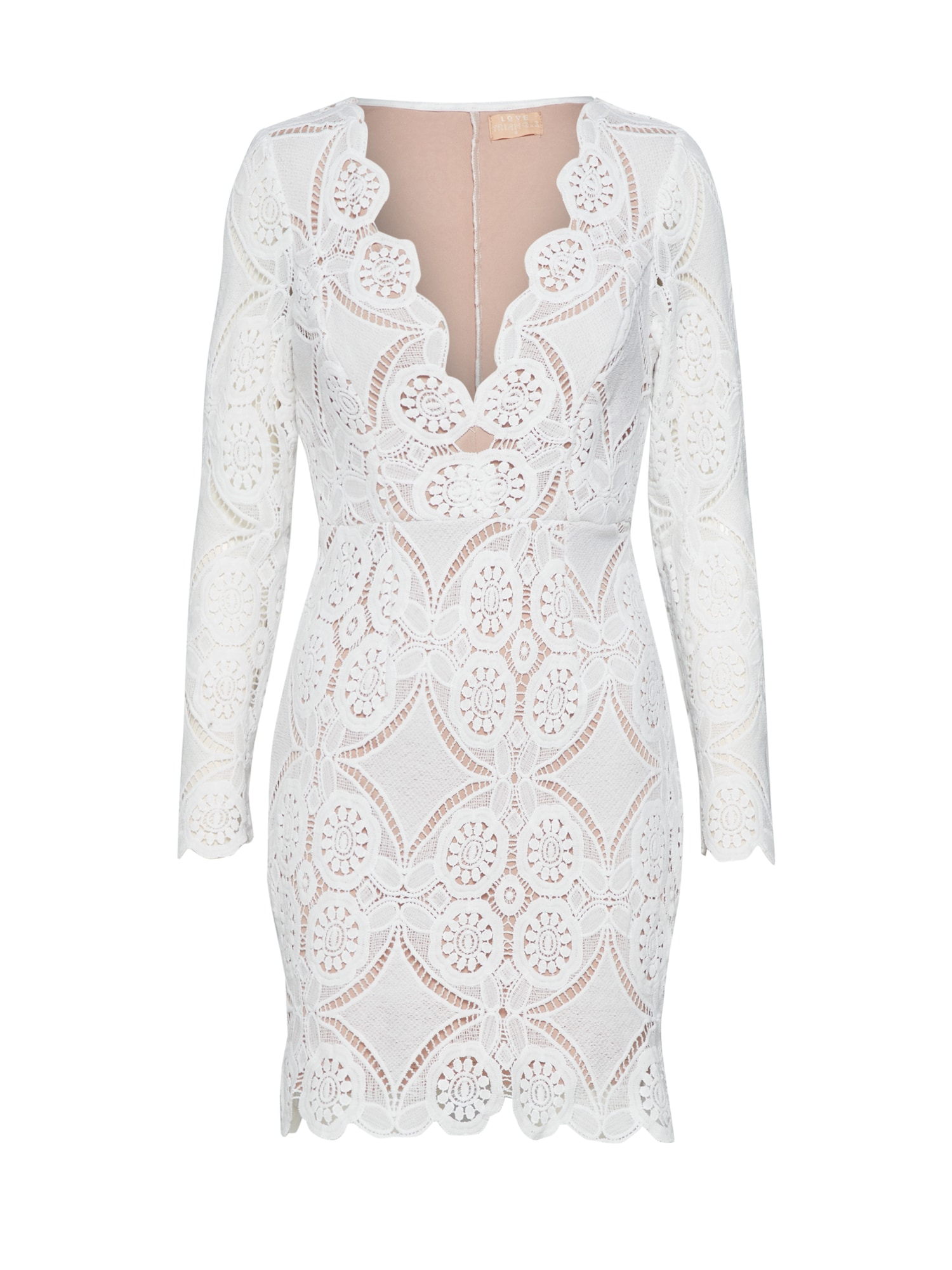 Love Triangle Kokteilinė suknelė 'ATOMIC' balta