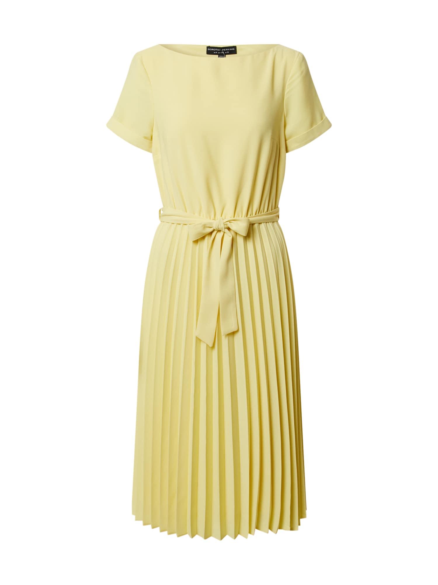 Dorothy Perkins Suknelė geltona