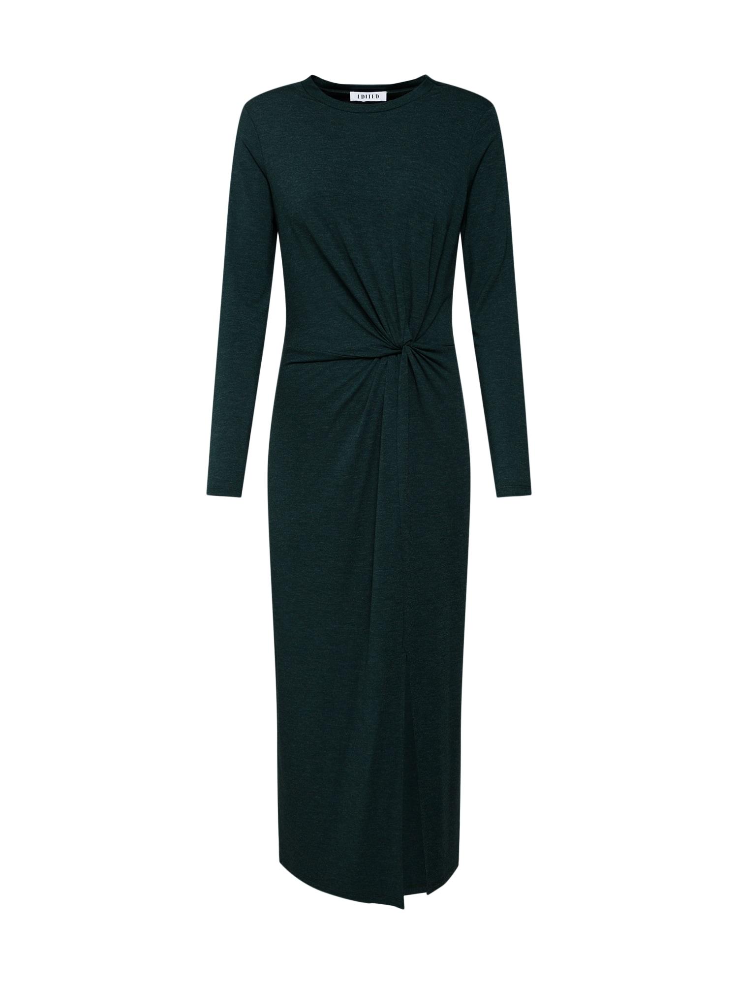 Šaty Meryl tmavě zelená EDITED