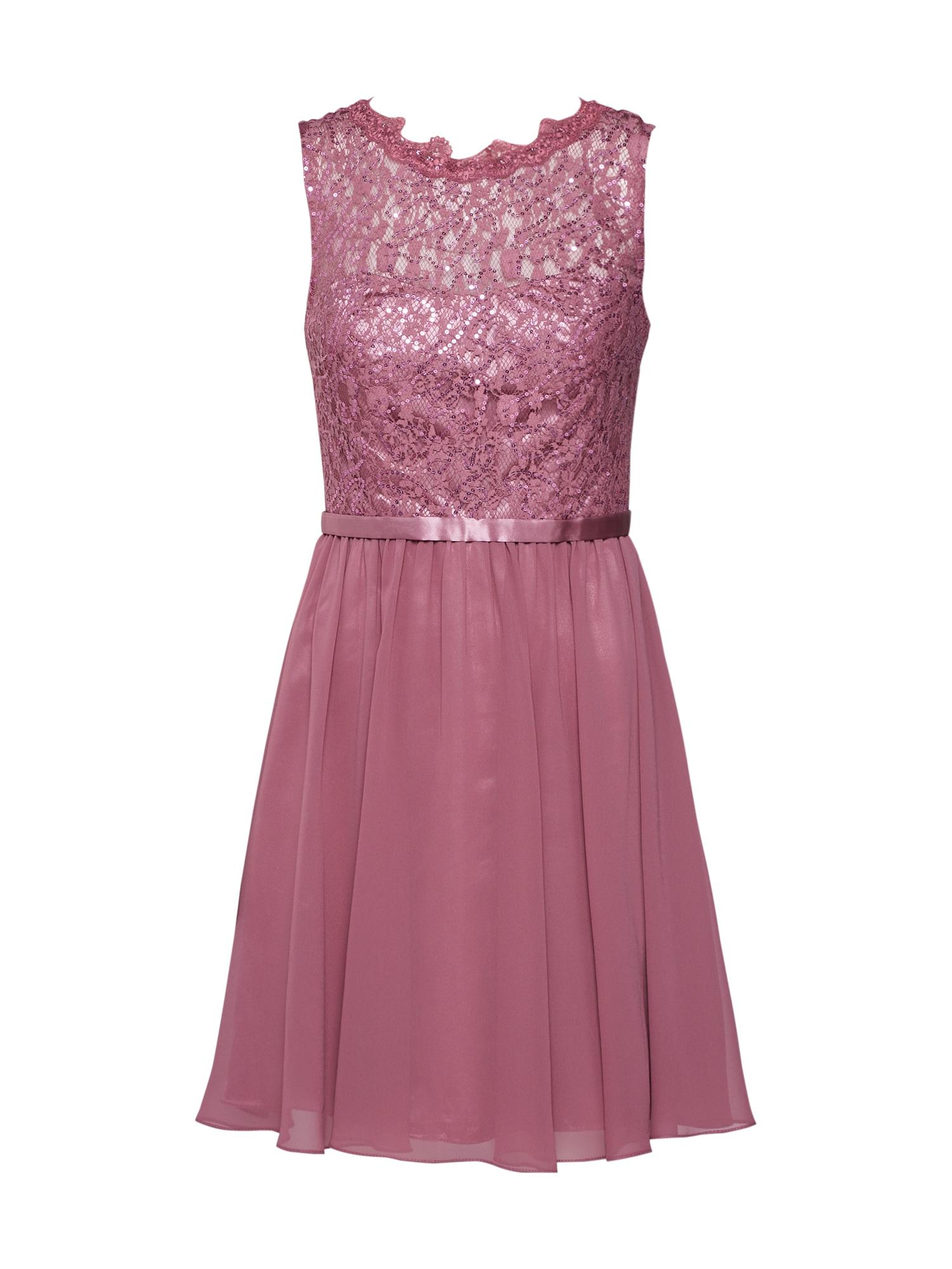 Laona Kokteilinė suknelė uogų spalva