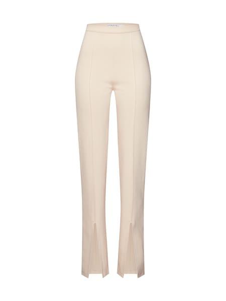 Hosen - Hose 'FRONT SLIT PANTS' › IVYREVEL › beige  - Onlineshop ABOUT YOU