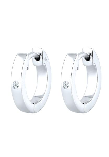 Ohrringe für Frauen - Diamore Ohrringe silber weiß  - Onlineshop ABOUT YOU