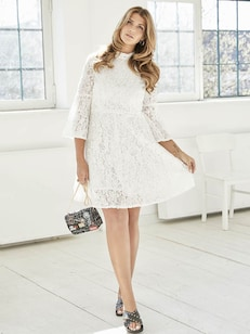 Lace Dress Look