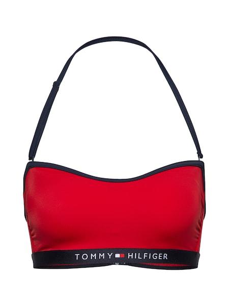 Bademode für Frauen - Tommy Hilfiger Underwear Bikinitop 'BANDEAU RP' rot  - Onlineshop ABOUT YOU