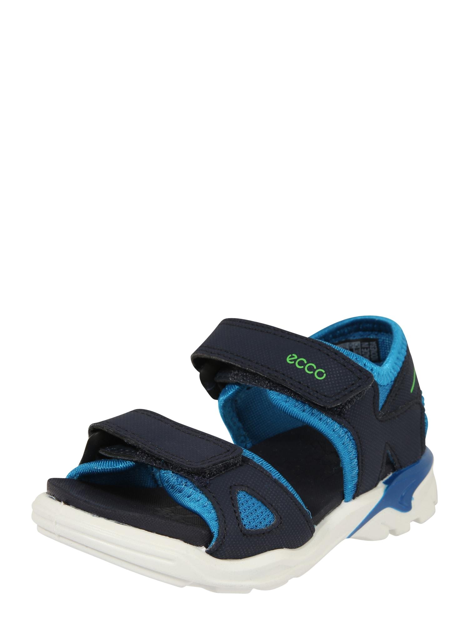 ECCO Atviri batai 'BIOM Raft' tamsiai mėlyna