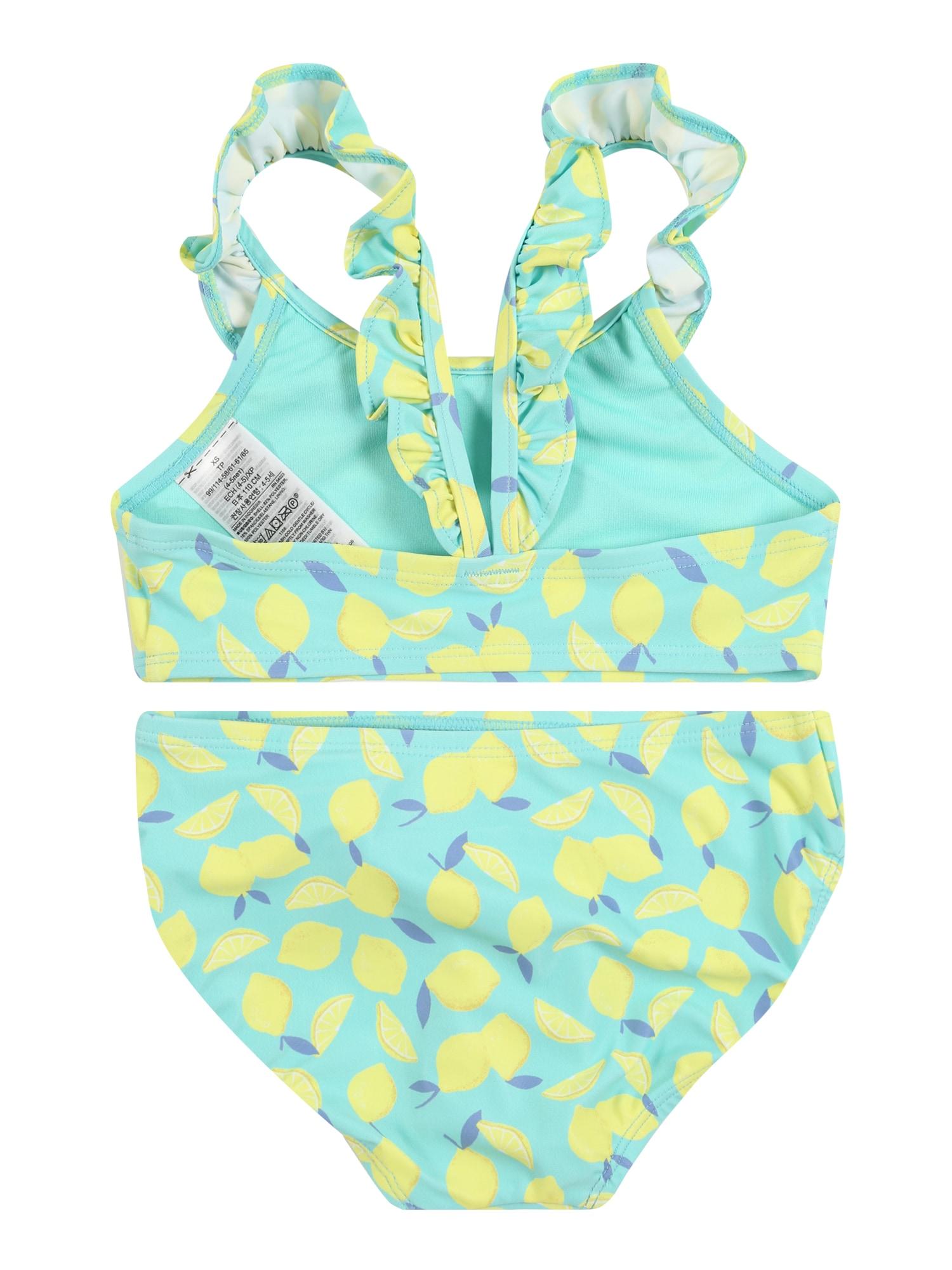 GAP Bikinis 'LEMON' citrinos spalva / turkio spalva