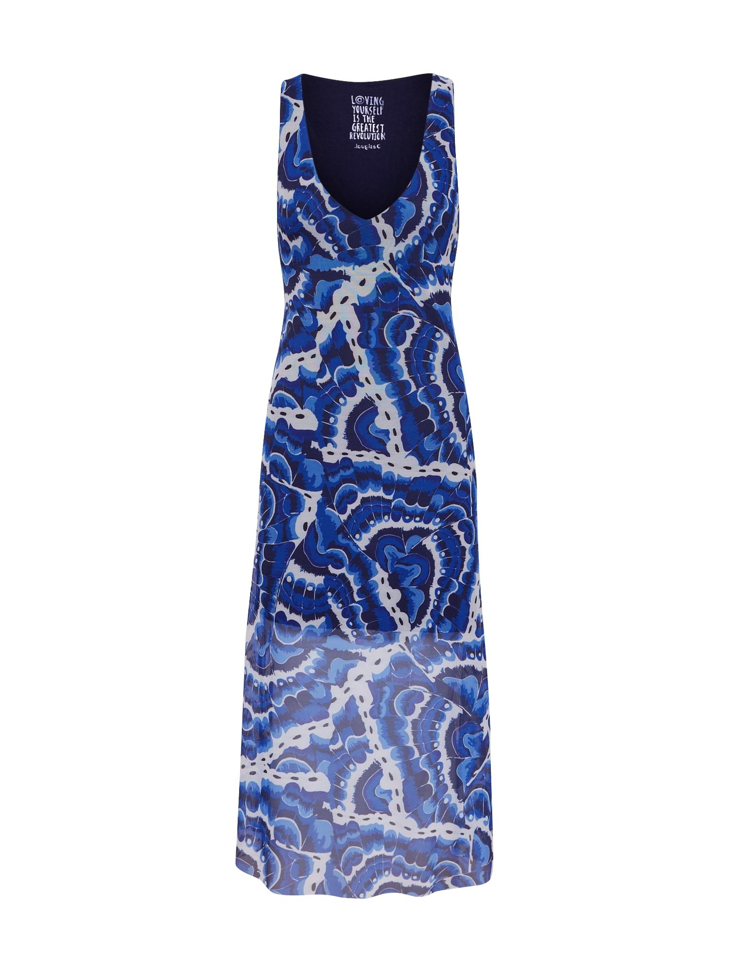 Desigual Vasarinė suknelė 'VEST_BELMOPAN' mišrios spalvos / tamsiai mėlyna