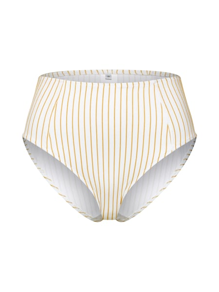 Bademode für Frauen - EDITED Bikinihose 'Oriana' senf weiß  - Onlineshop ABOUT YOU
