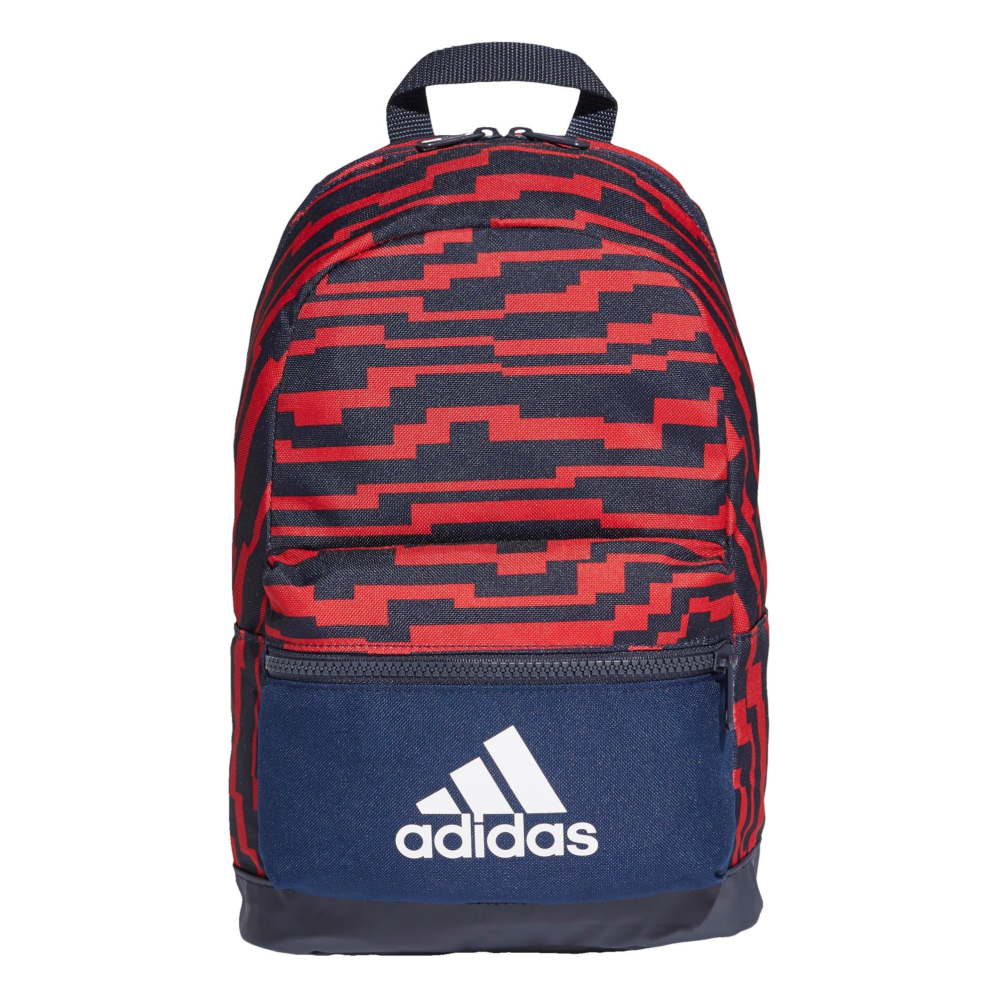 ADIDAS PERFORMANCE Športový batoh  červené / námornícka modrá