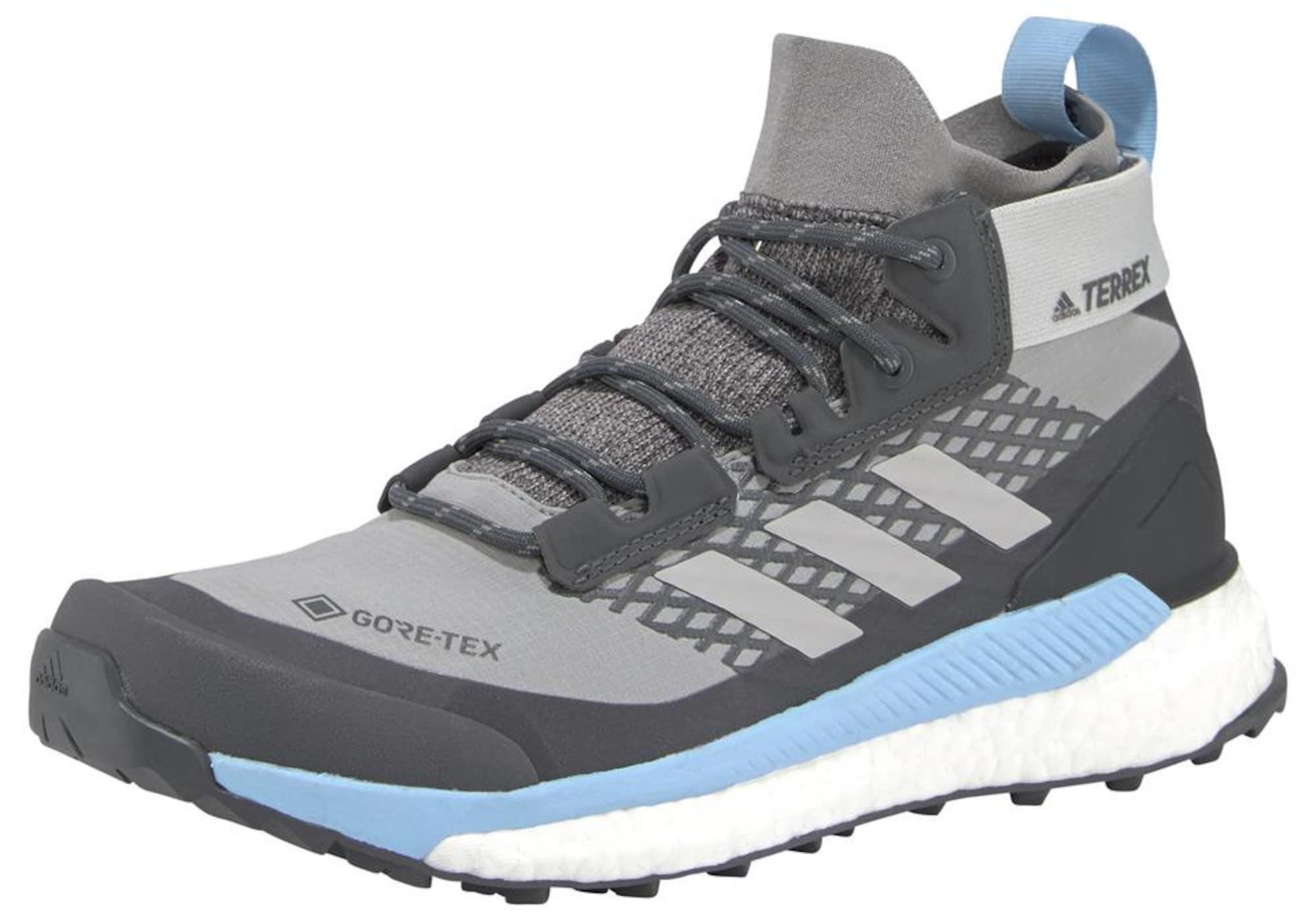 ADIDAS PERFORMANCE Auliniai batai šviesiai pilka / tamsiai pilka / šviesiai mėlyna