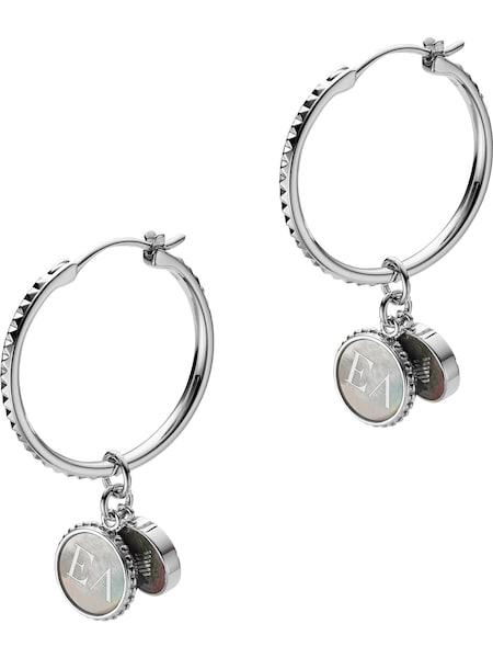 Ohrringe für Frauen - Emporio Armani Ohrhänger silber  - Onlineshop ABOUT YOU