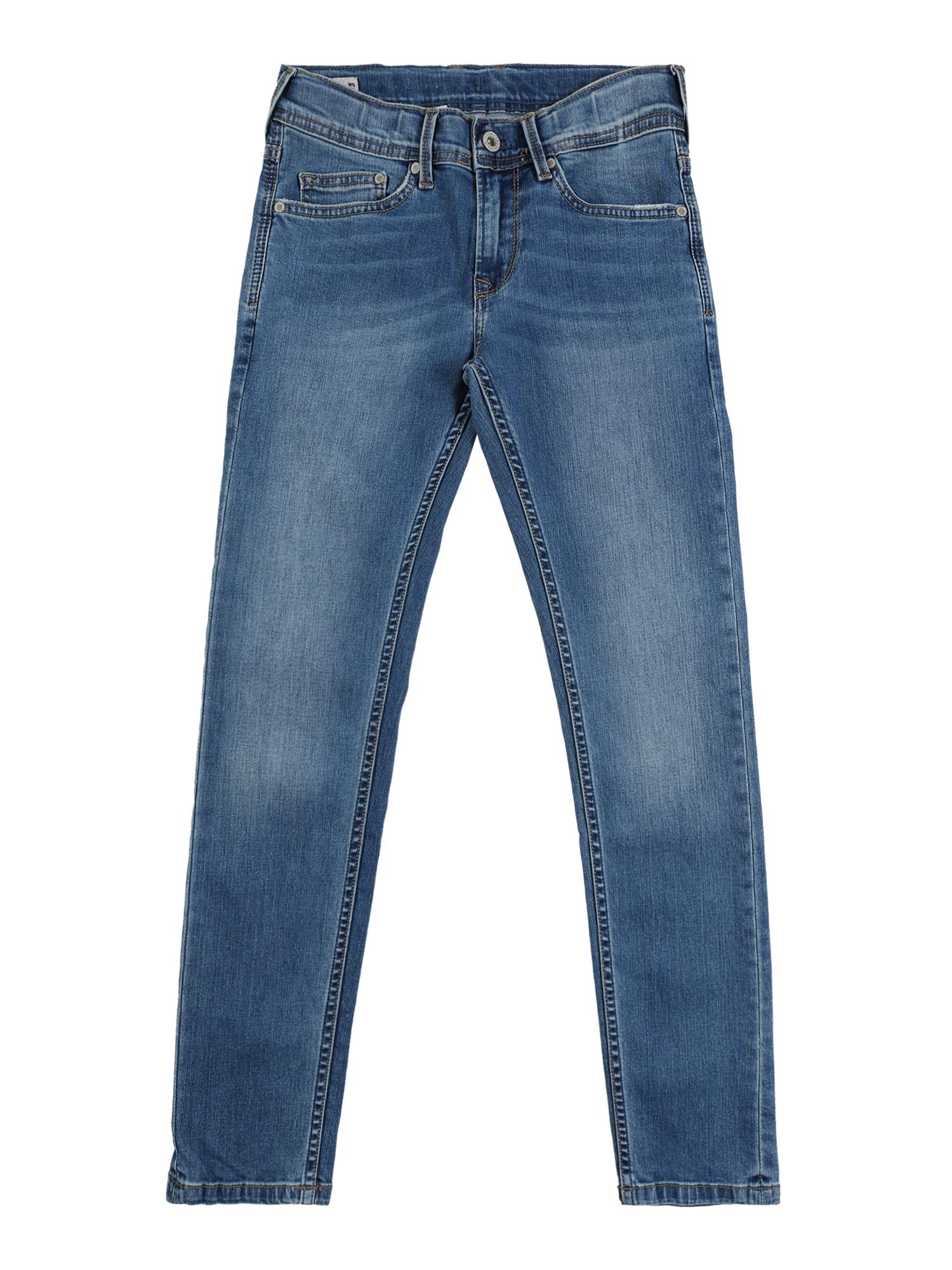 Pepe Jeans Džinsai 'FINLY' tamsiai (džinso) mėlyna