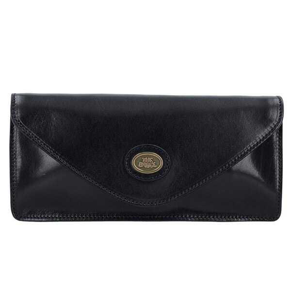 Clutches für Frauen - The Bridge Story Donna Clutch Tasche Leder 25 cm schwarz  - Onlineshop ABOUT YOU