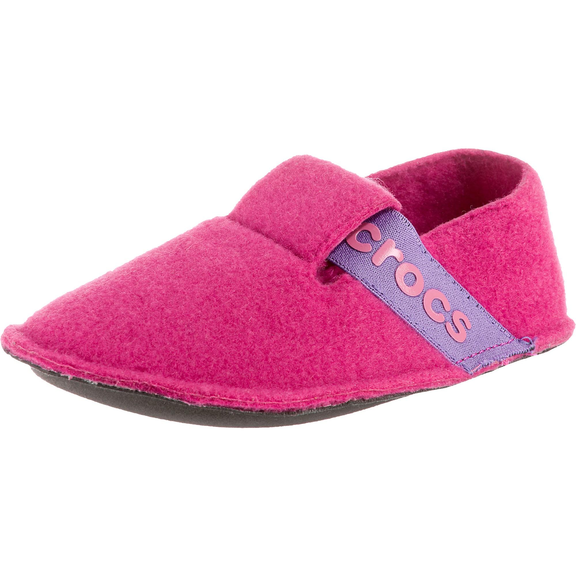 Pantofle svítivě fialová pink svítivě růžová Crocs