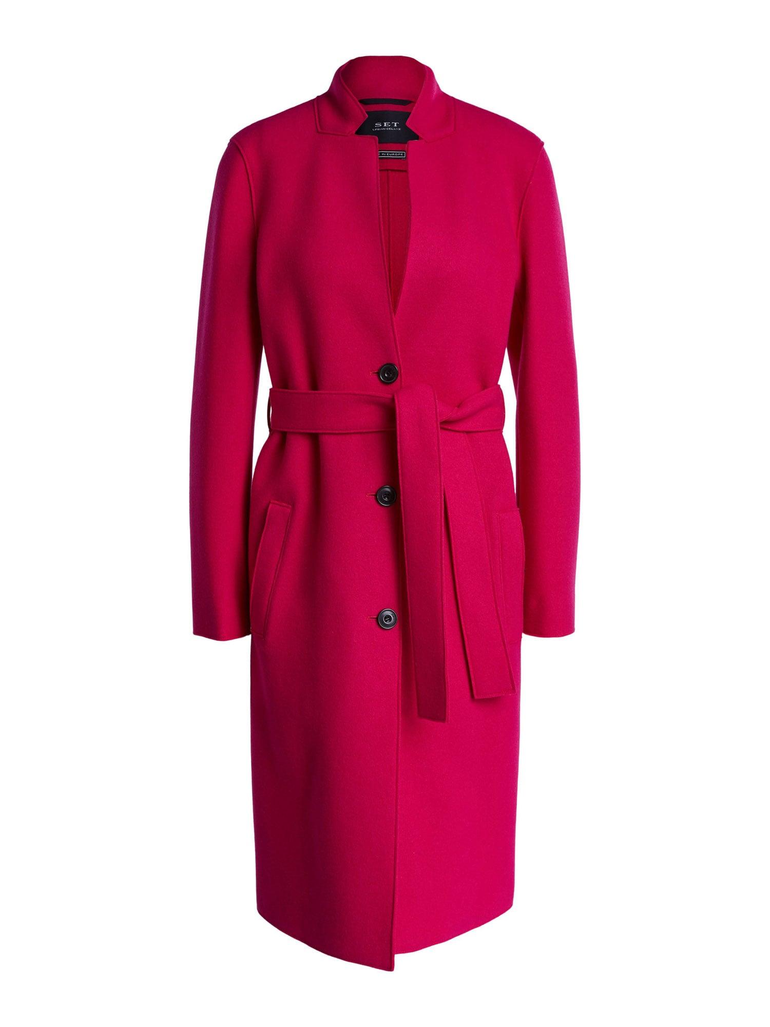 SET Demisezoninis paltas pitajų spalva