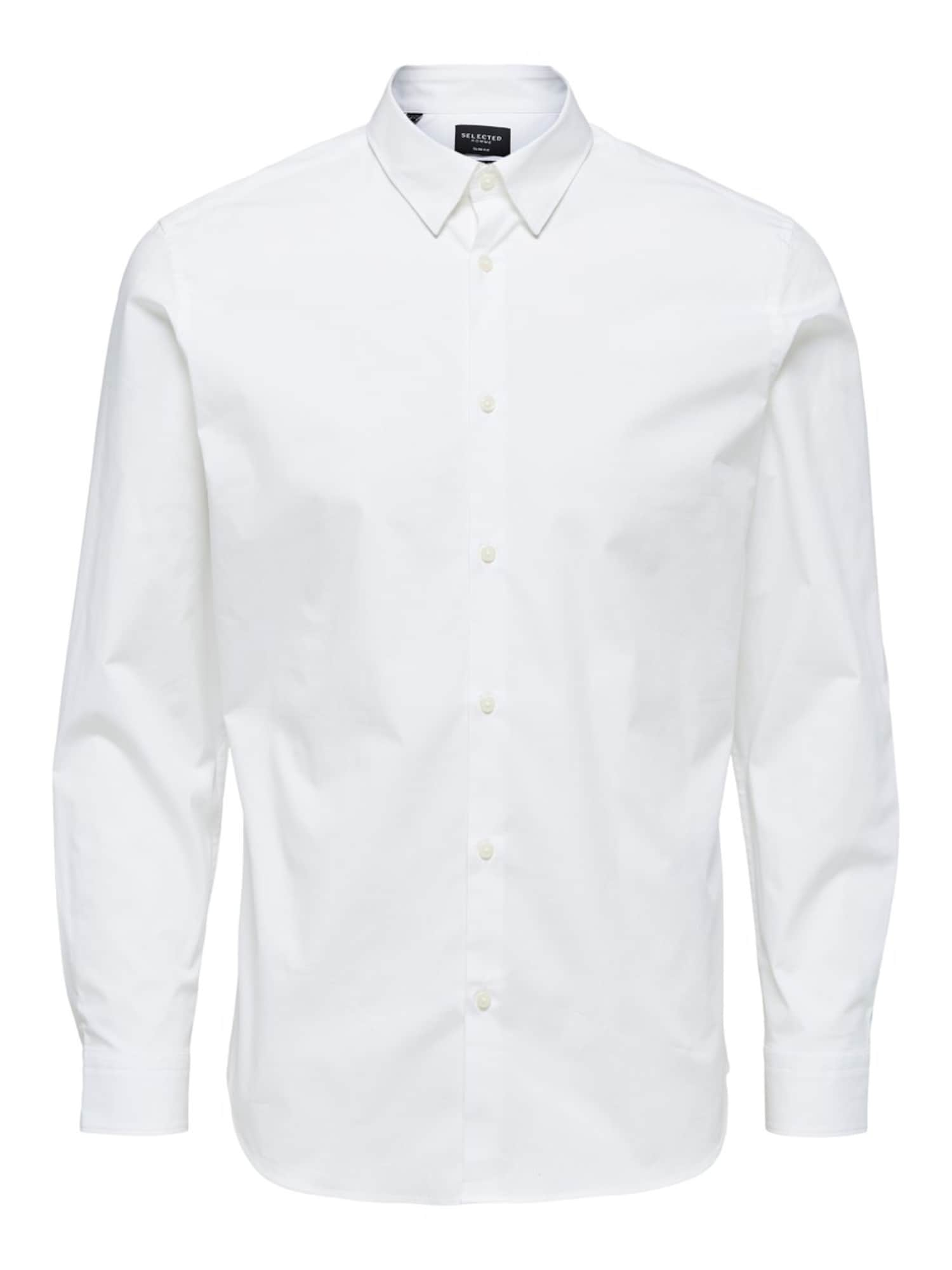 SELECTED HOMME Dalykinio stiliaus marškiniai balta