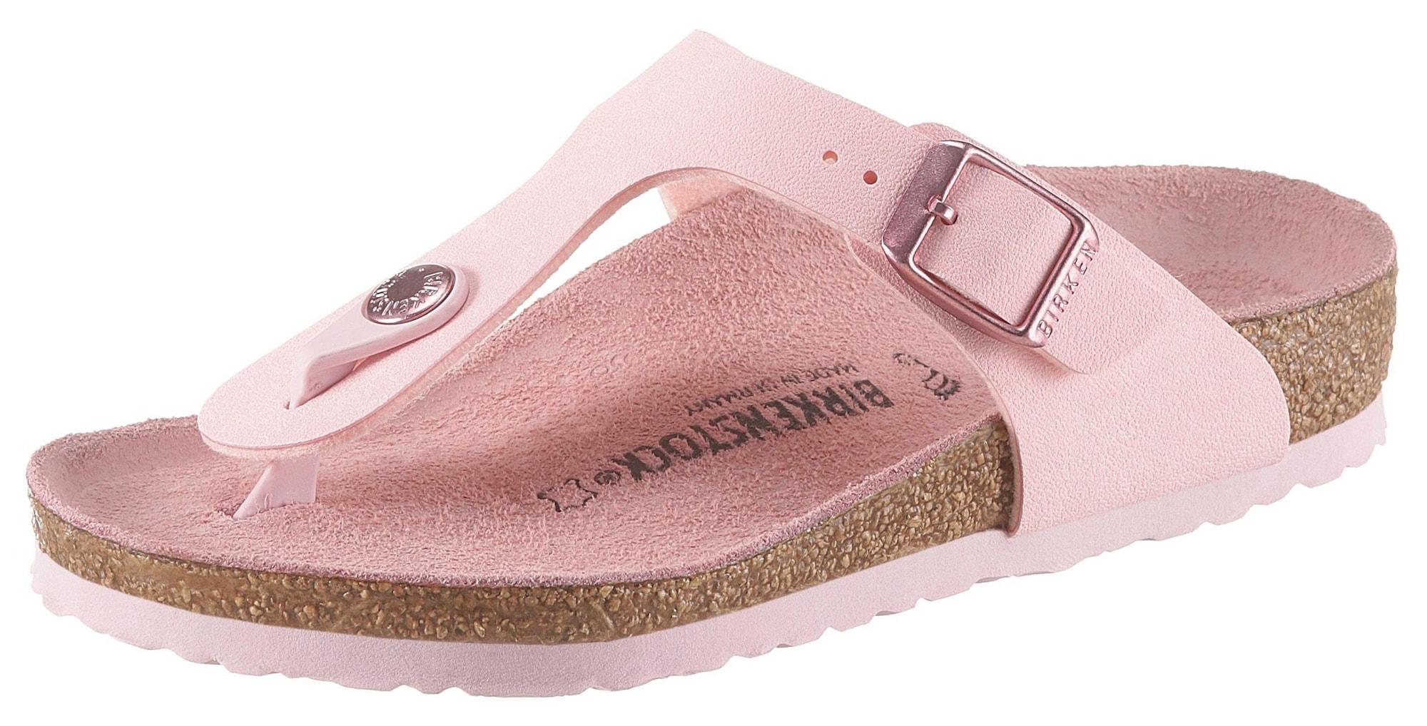 BIRKENSTOCK Atviri batai 'Gizeh' rožinė