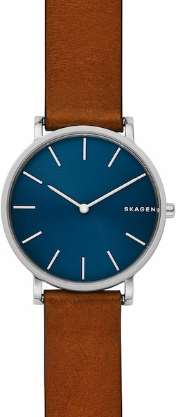 Uhren für Frauen - SKAGEN Quarzuhr 'HAGEN' braun silber  - Onlineshop ABOUT YOU