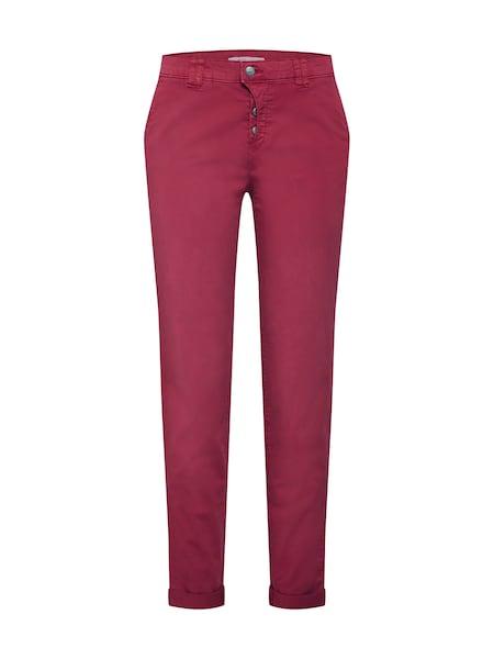 Hosen für Frauen - EDC BY ESPRIT Hosen 'OCS Chino Pants woven' kirschrot  - Onlineshop ABOUT YOU