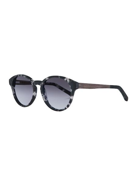 Sonnenbrillen für Frauen - Kerbholz Sonnenbrille 'Leopold' braunmeliert schwarz weiß  - Onlineshop ABOUT YOU