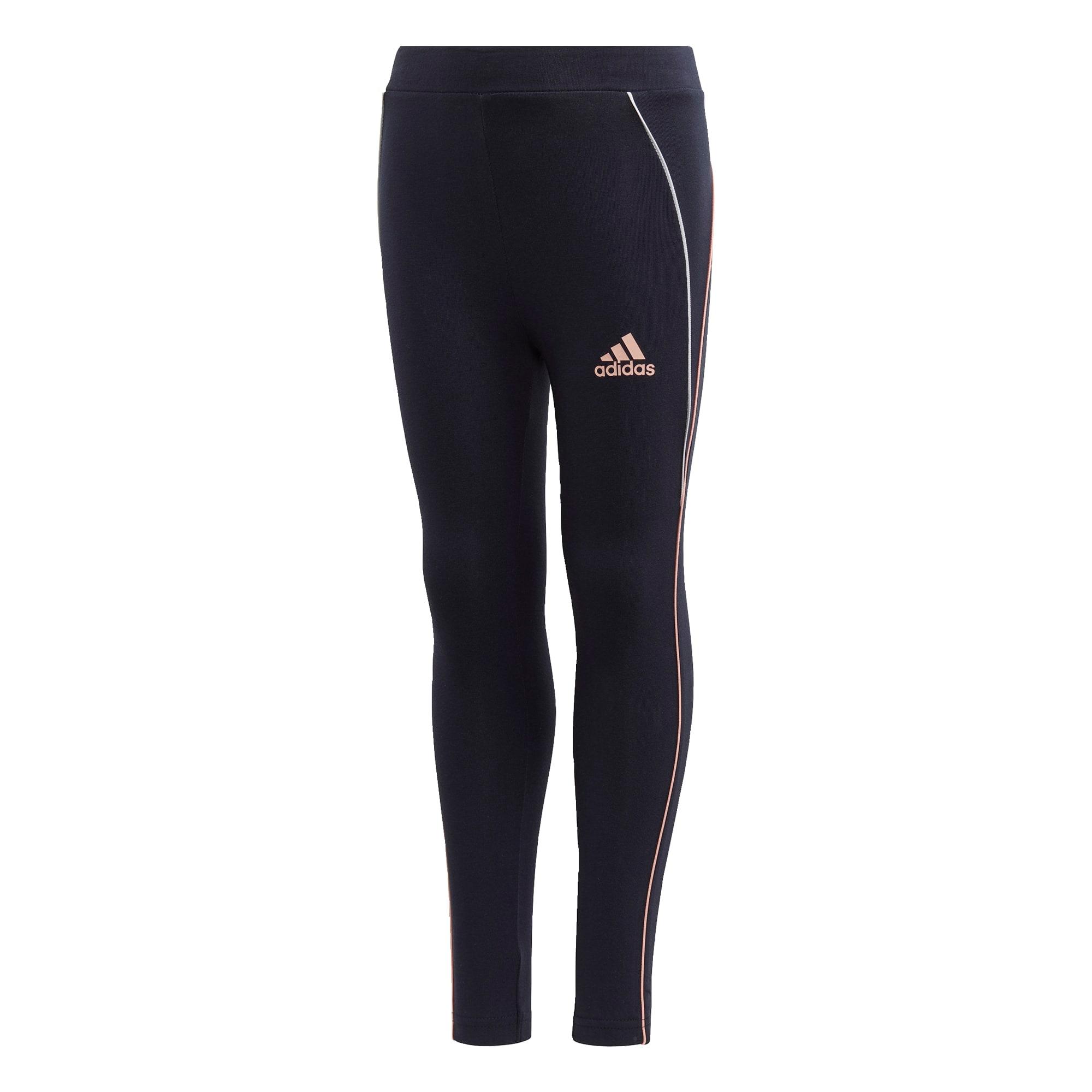 ADIDAS PERFORMANCE Sportinės kelnės tamsiai mėlyna / pastelinė rožinė / balta