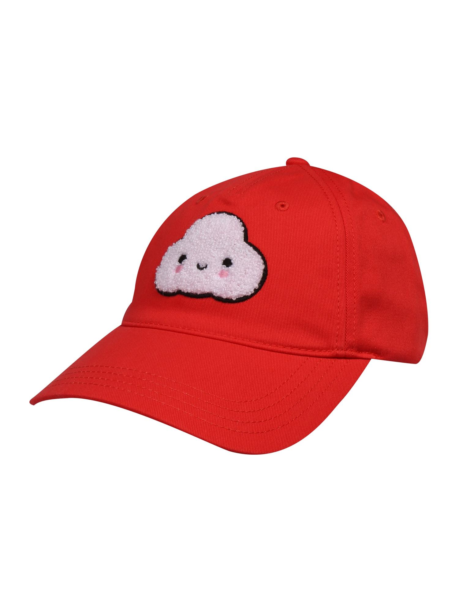 LACOSTE Kepurė balta / raudona