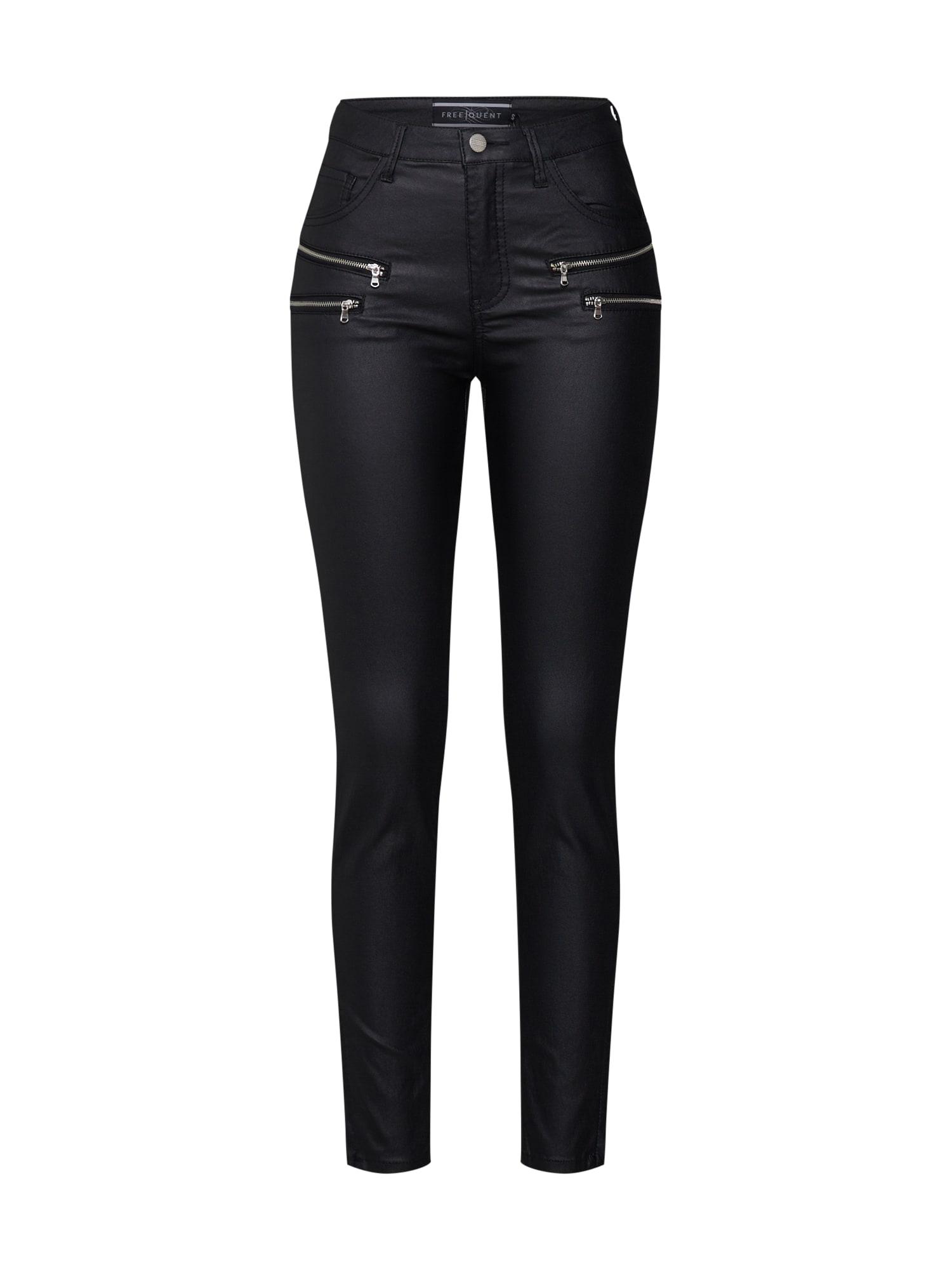 Freequent Chino stiliaus kelnės 'AIDA COOPER' juoda