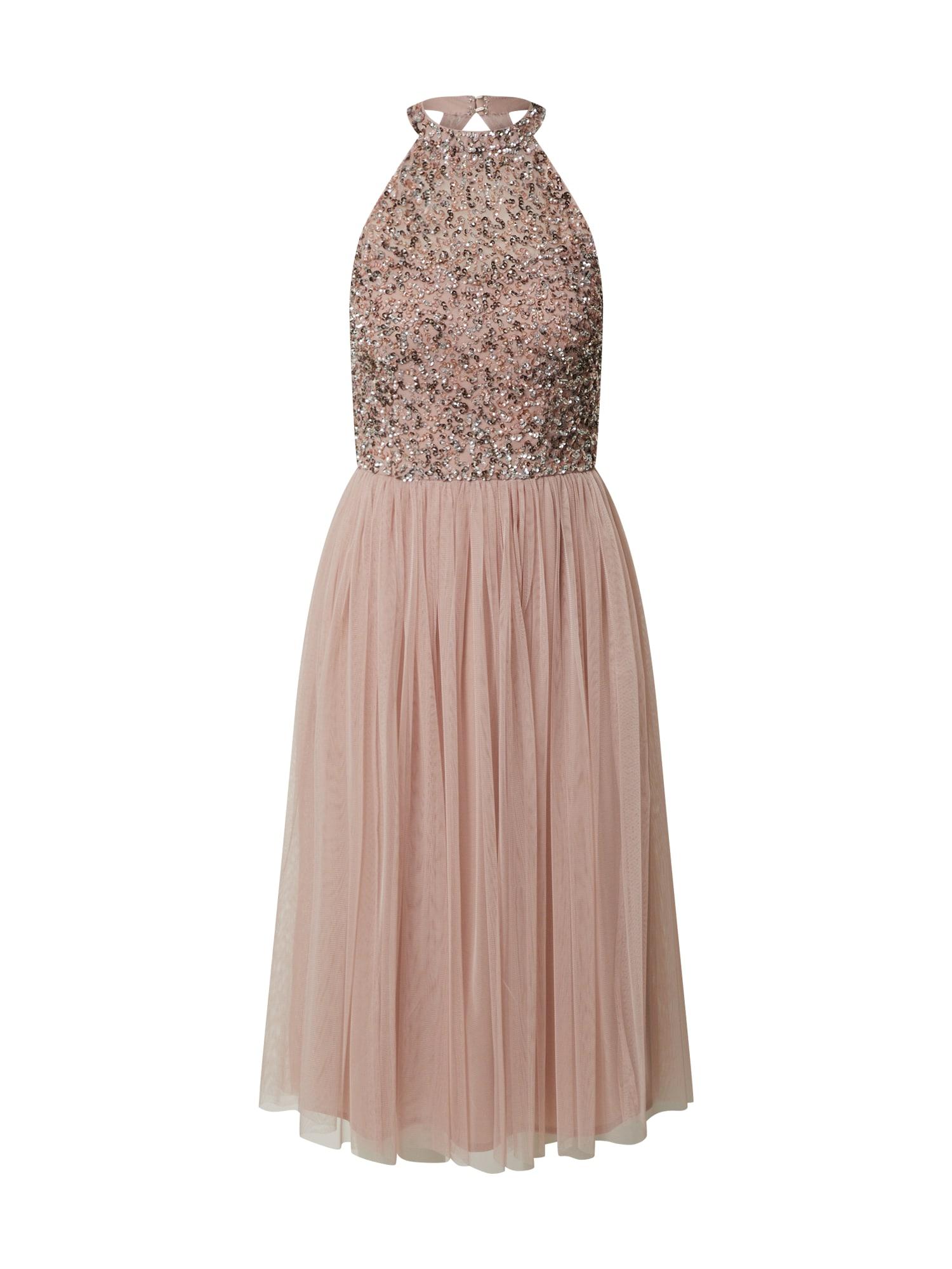 Maya Deluxe Kokteilinė suknelė rožinė