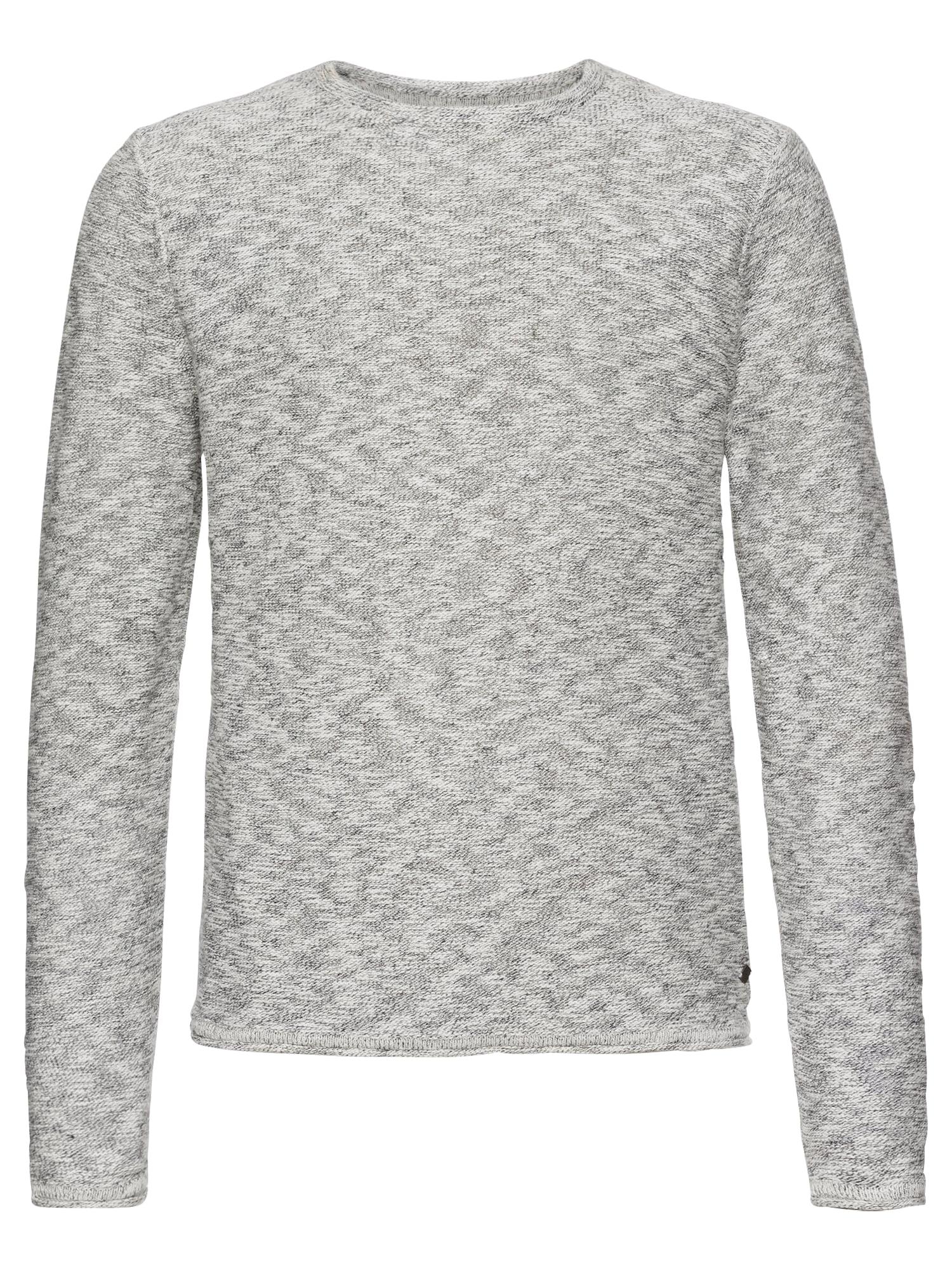 Only & Sons Sveter 'ALDIN'  prírodná biela / sivá melírovaná