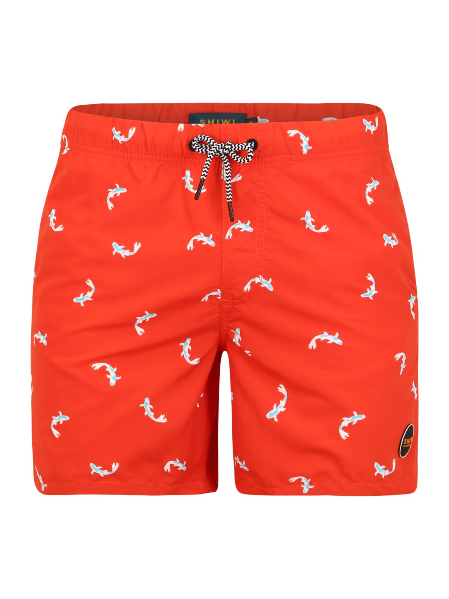 Shiwi Plavecké šortky 'Koi'  červené