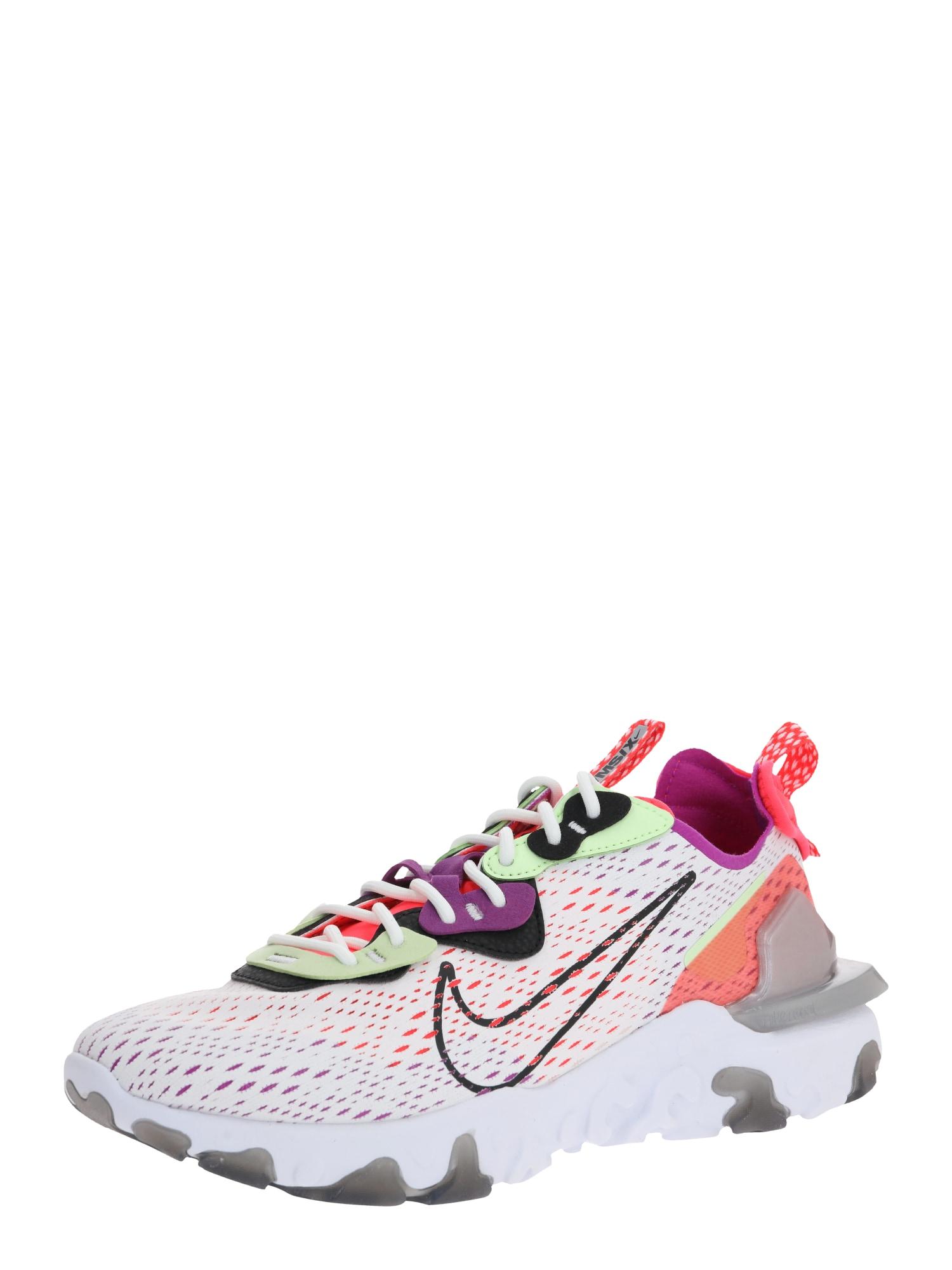 NIKE Nízke tenisky 'Nike React Vision'  čierna / béžová / biela