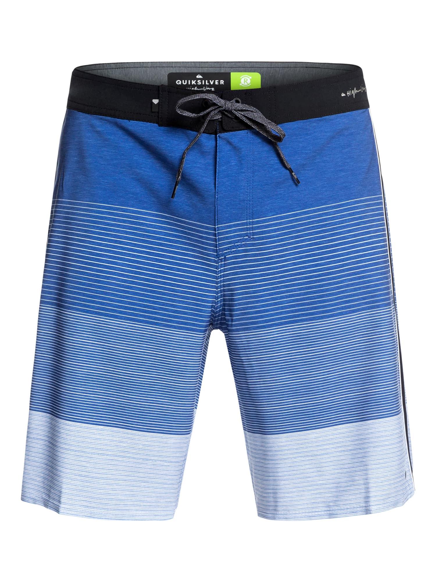 Sportovní plavky HIGHLINE MASSIVE 17 modrá QUIKSILVER