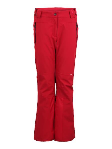 Hosen für Frauen - Hose › CMP › rot schwarz  - Onlineshop ABOUT YOU