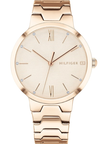 Uhren für Frauen - TOMMY HILFIGER Uhr 'Dressed UP' gold  - Onlineshop ABOUT YOU