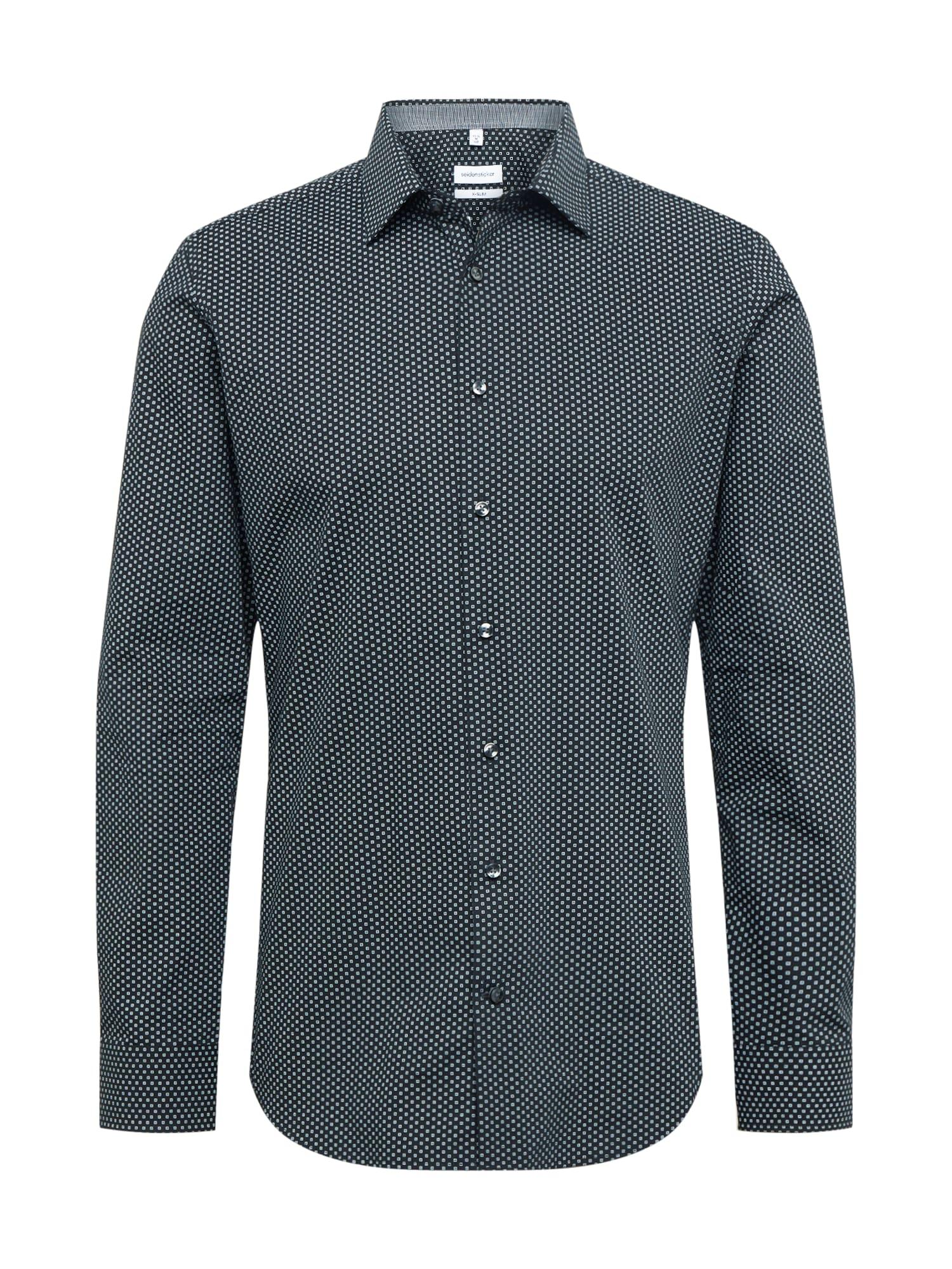 SEIDENSTICKER Marškiniai balta / juoda