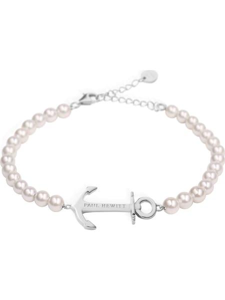 Armbaender für Frauen - Paul Hewitt Armkette 'Anchor Spirit' rosa silber  - Onlineshop ABOUT YOU