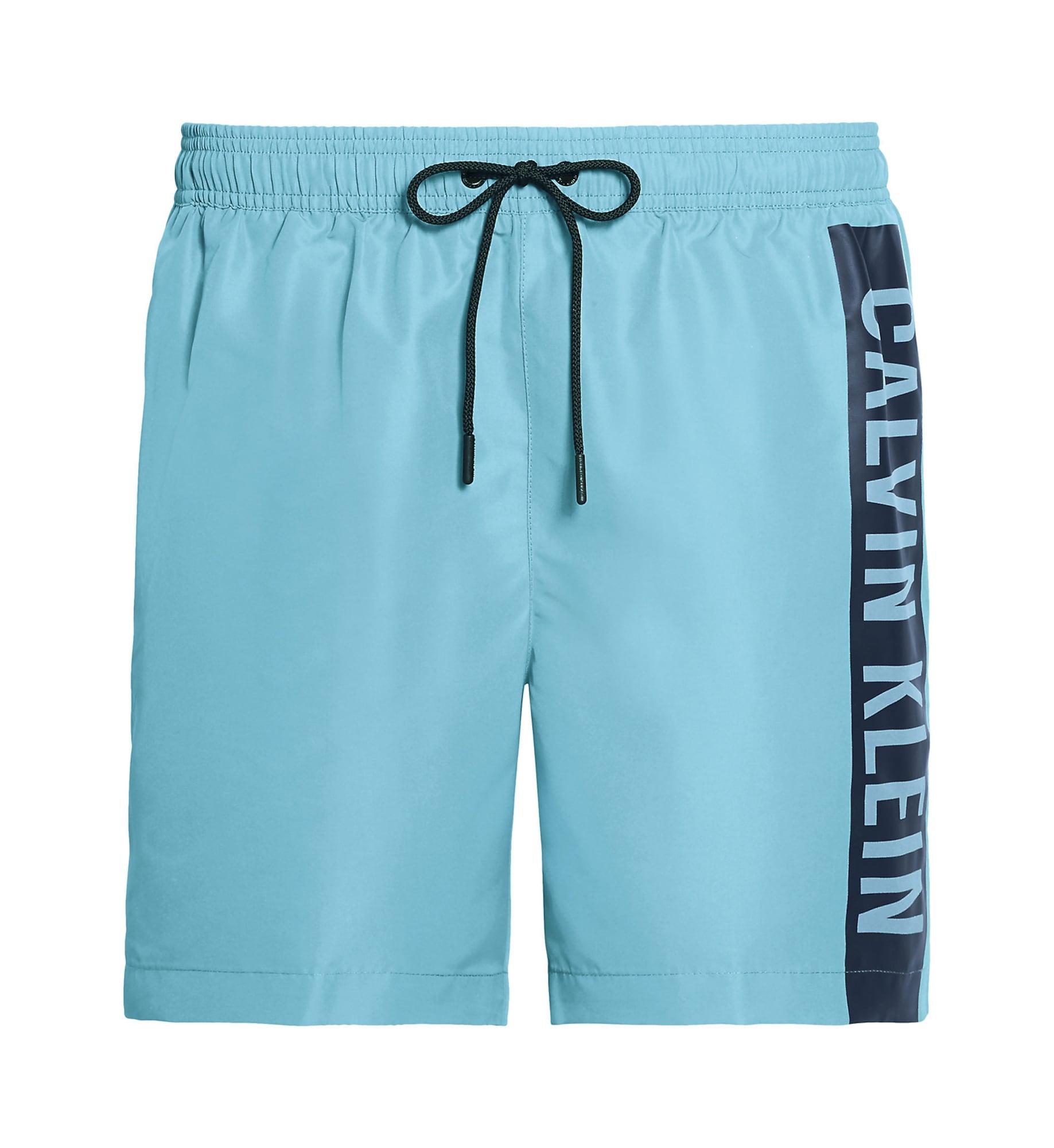 Calvin Klein Swimwear Maudymosi trumpikės šviesiai mėlyna