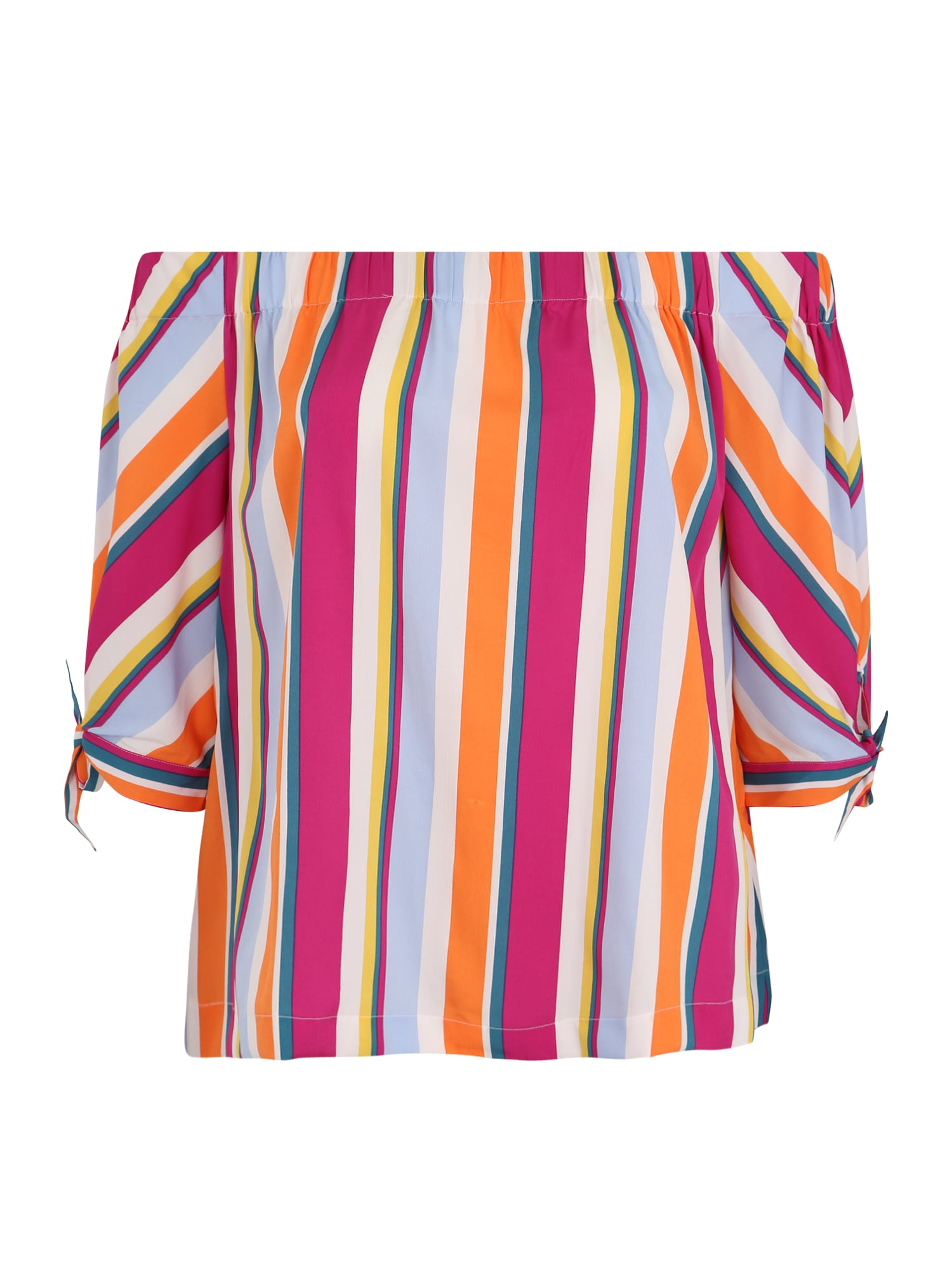 Junarose Marškinėliai 'MAGDA OFF SHOULDER TOP- K' mišrios spalvos