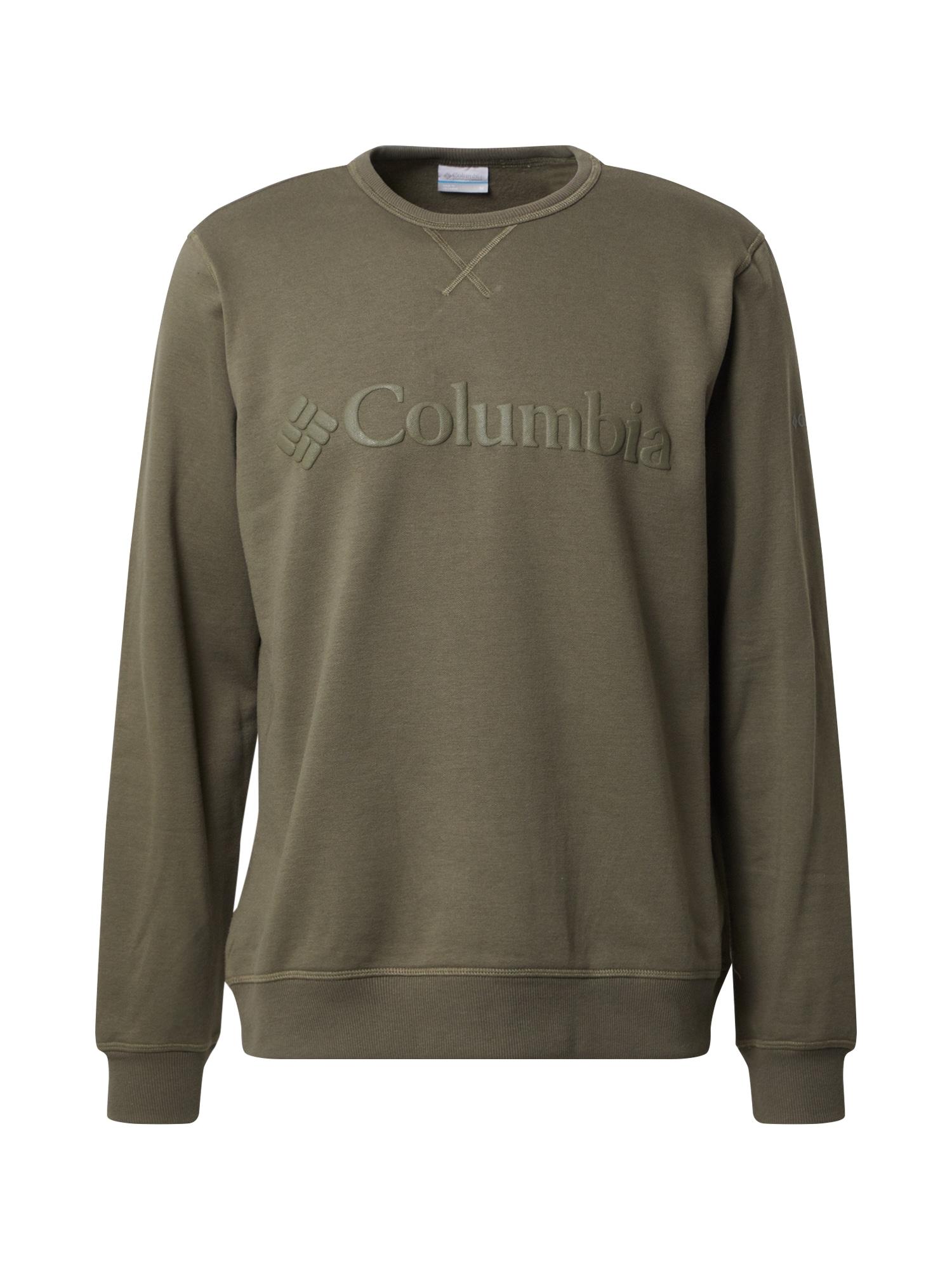 COLUMBIA Mikina  khaki