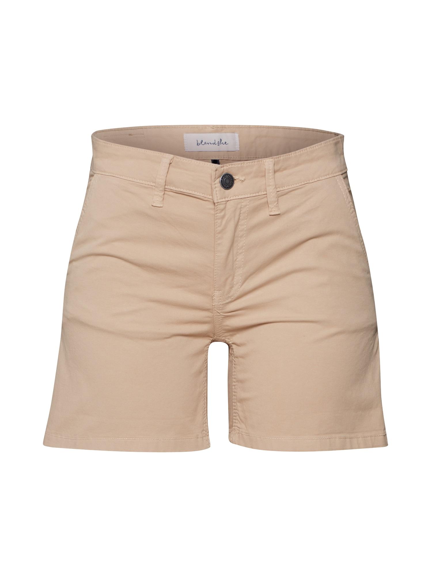 Blend She Chino stiliaus kelnės 'MALLE' smėlio