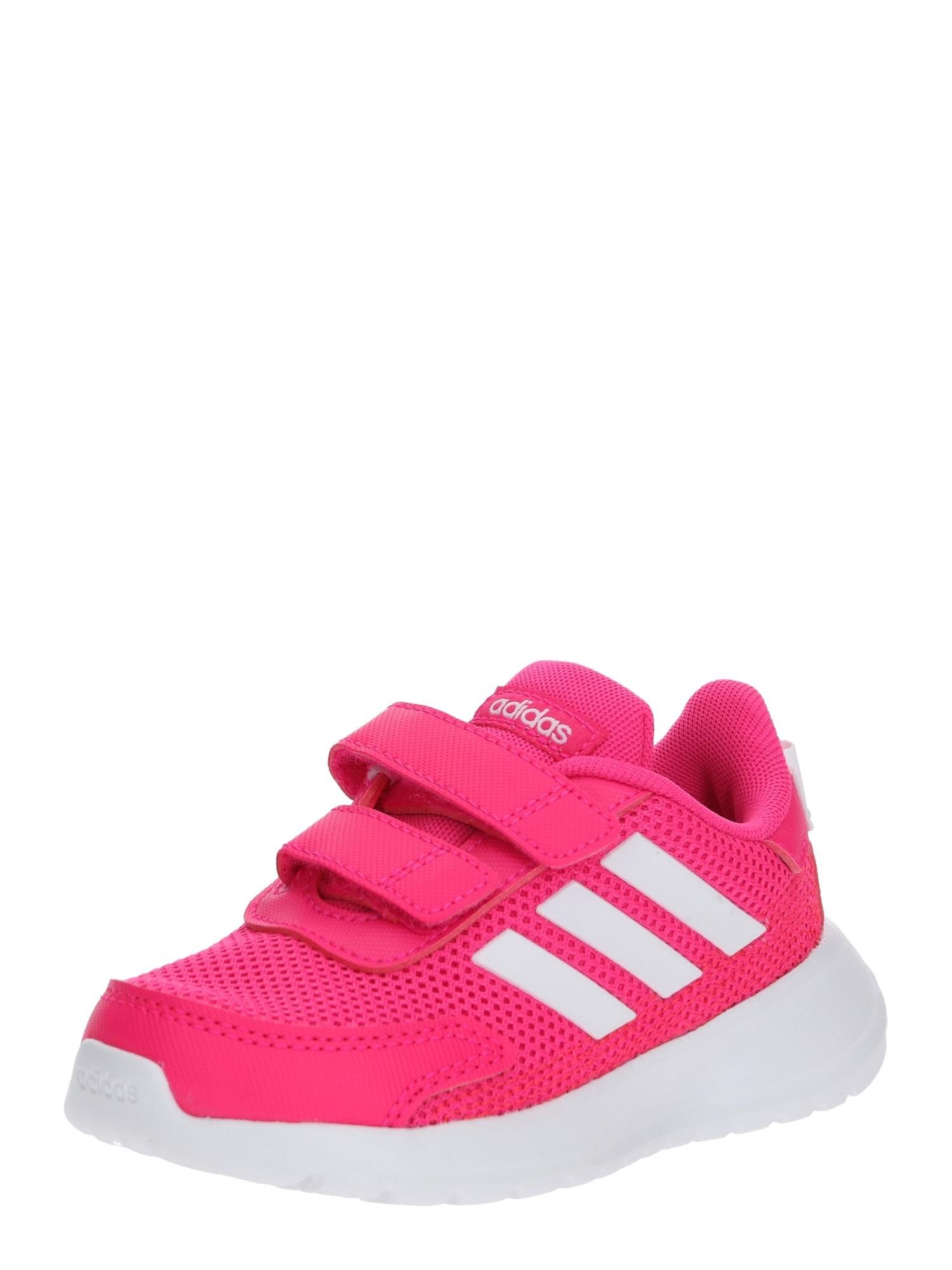 ADIDAS PERFORMANCE Sportiniai batai 'Tensaur Run I' balta / rožinė
