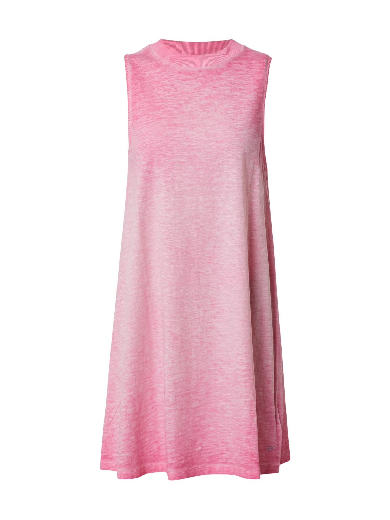 EDC BY ESPRIT Vasarinė suknelė fuchsijų spalva