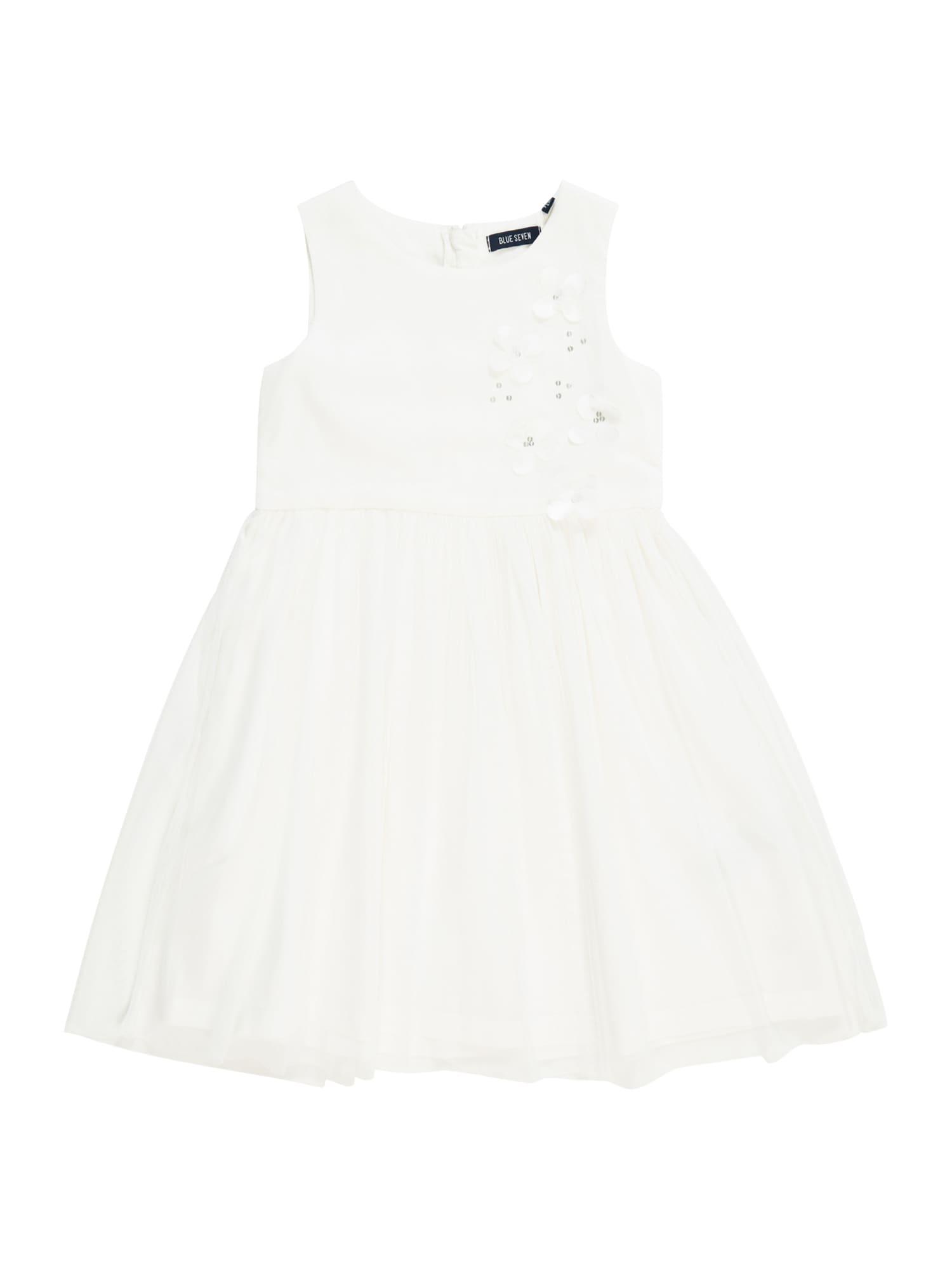 BLUE SEVEN Suknelė balta