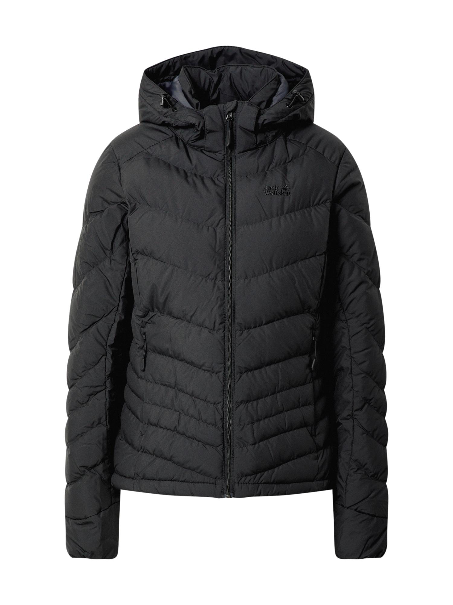 JACK WOLFSKIN Outdoorová bunda 'Selenium'  černá