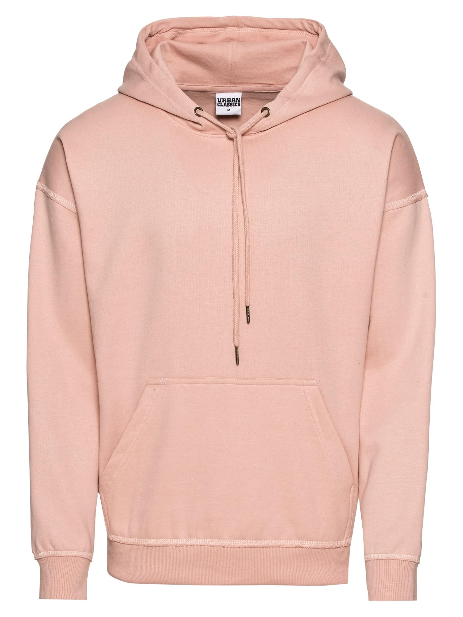 Urban Classics Bluză de molton  roz vechi