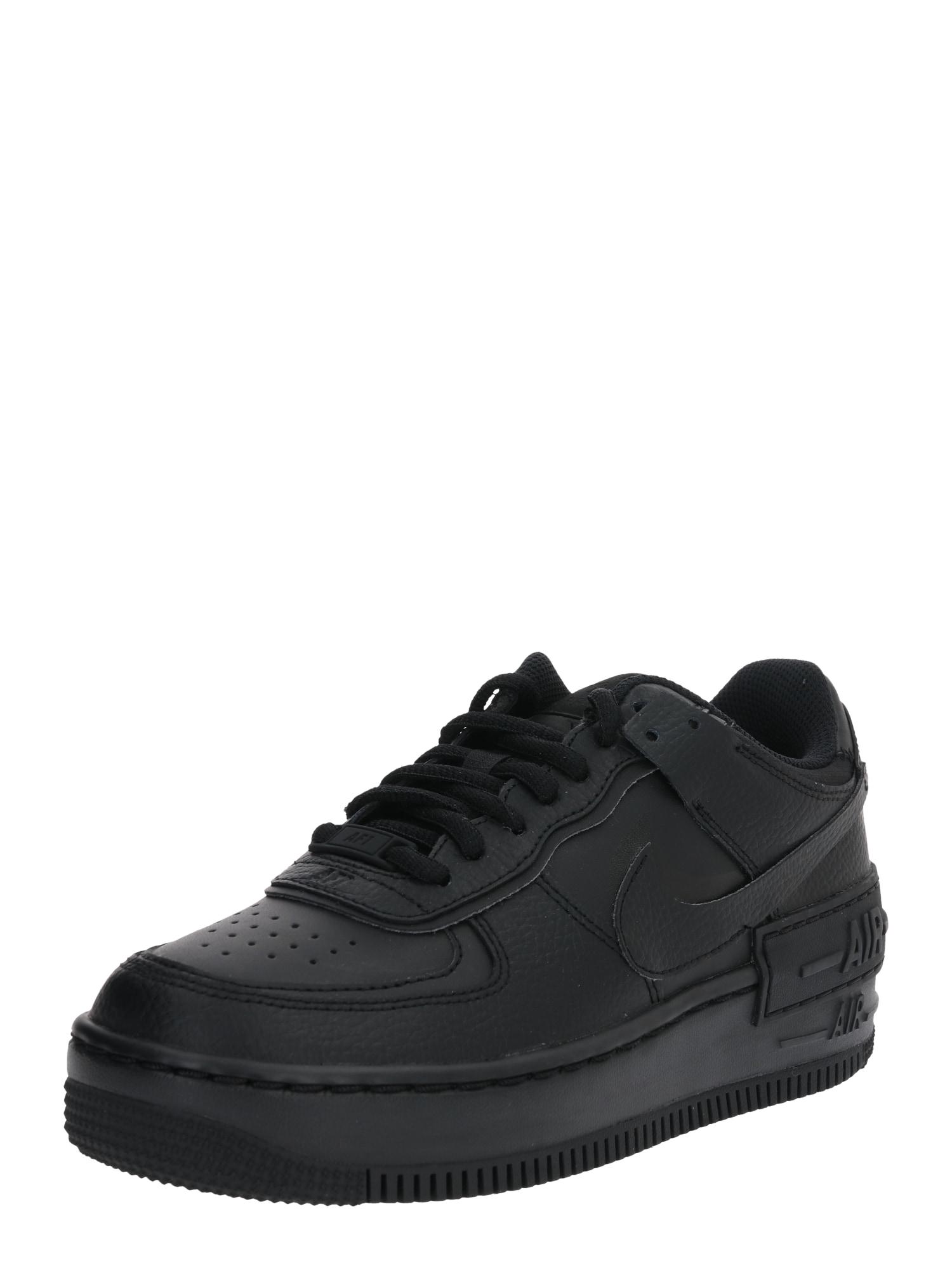 Nike Sportswear Sportbačiai be auliuko 'AF1' juoda