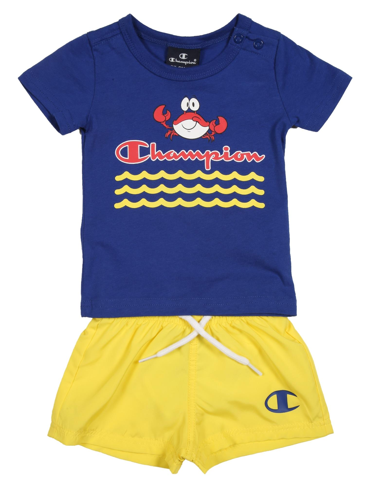 Champion Authentic Athletic Apparel Rinkinys mėlyna / geltona