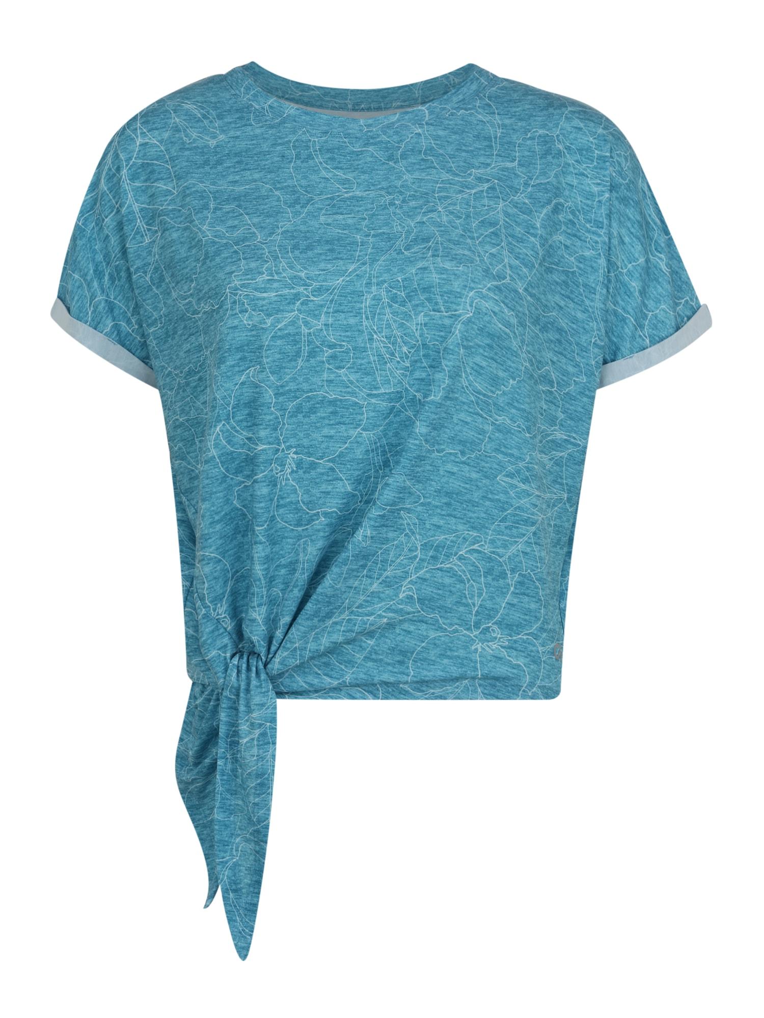 GAP Sportiniai marškinėliai 'BR SS DOLMAN SIDE TEE' margai mėlyna